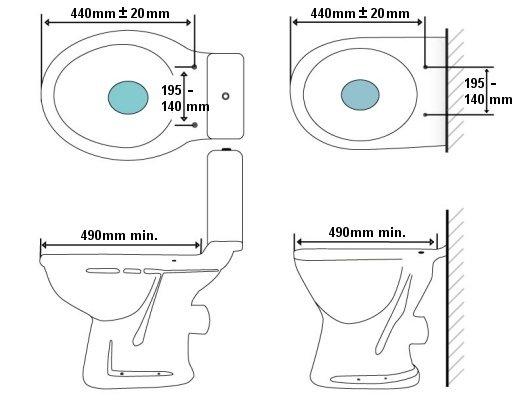 Size Guide Bio Bidet Electronic Bidet Toilet Seat